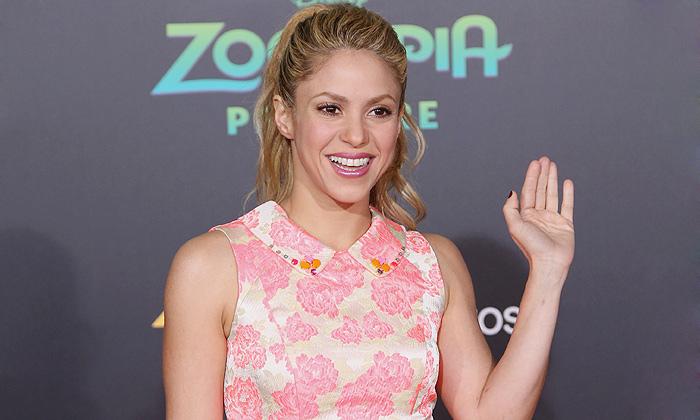 ¿Qué hace Shakira en Hollywood?