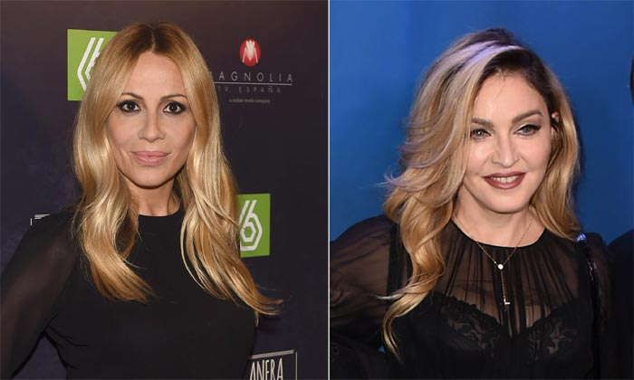 Marta Sánchez recuerda su encontronazo con Madonna