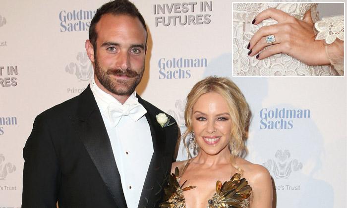 ¡Es oficial! Kylie Minogue confirma lo que su anillo de diamantes ya adelantaba