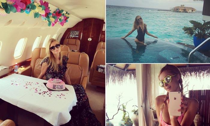 Paris Hilton o cómo cumplir años a todo tren
