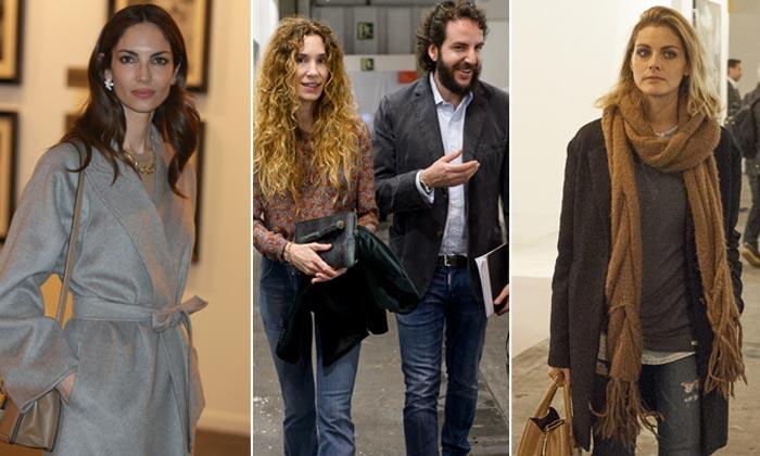 Amaia Salamanca, Eugenia Silva... se mezclan con artistas y galeristas en ARCO