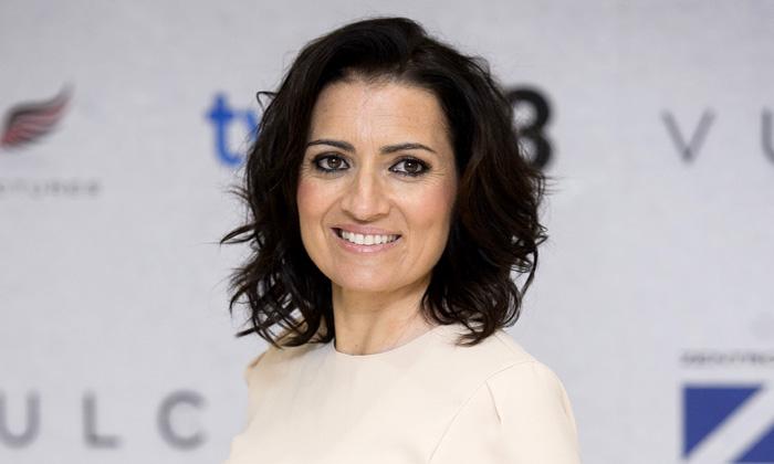 ¿Cuánto mide Silvia Abril? - Altura Silvia-abril--t
