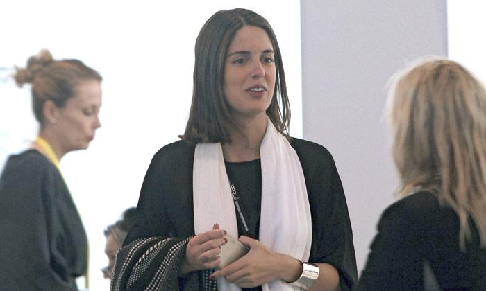 Sofía Palazuelo, novia de Fernando Fitz-James Stuart, una experta asesora de arte