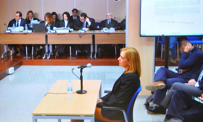 La infanta Cristina afirma que actuaba 'por confianza' en su marido al que considera inocente