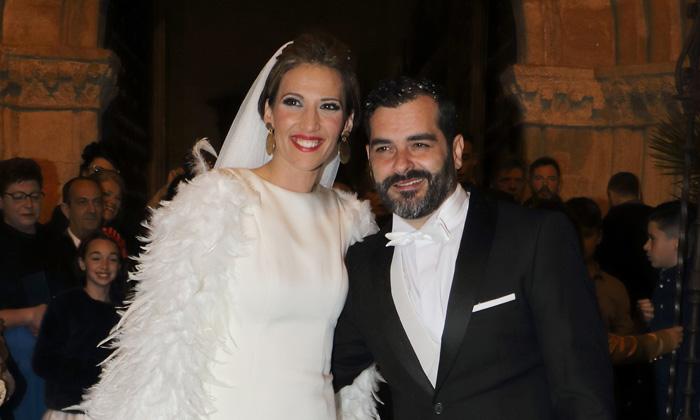 ¡Una boda con mucho arte! Junior Míguez y La Flaka se casan