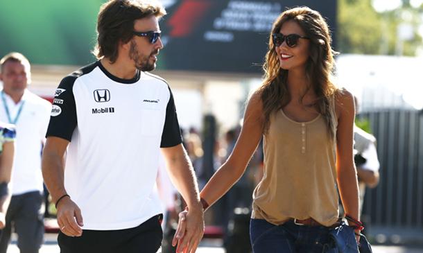 ¿Han roto Lara Álvarez y Fernando Alonso?