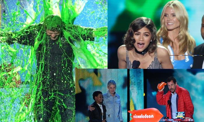 Star Wars, Justin Bieber y Ariana Grande, triunfadores en el gran show de los Kids' Choice Awards