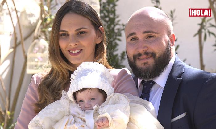 En vídeo, las imágenes exclusivas del bautizo de Ana Rivera