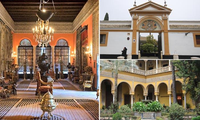 Recorre con HOLA.com el Palacio de Las Dueñas, la residencia favorita de la duquesa de Alba