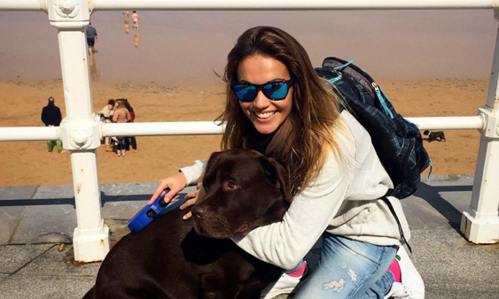 Así han sido las vacaciones de Lara Álvarez sin Fernando Alonso
