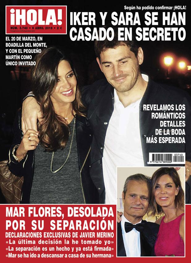 Iker casillas y sara carbonero se han casado en secreto - Jordi evole con quien esta casado ...