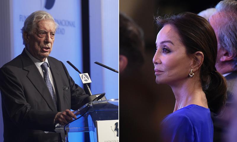Isabel Preysler asiste a la inauguración del seminario con el que Mario Vargas Llosa celebra su 80 cumpleaños
