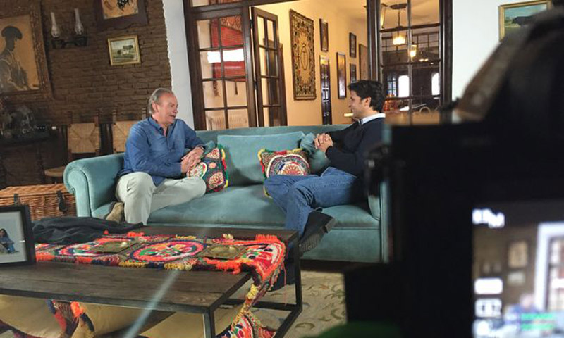 Francisco Rivera se confiesa con Bertín Osborne en su nueva aventura televisiva