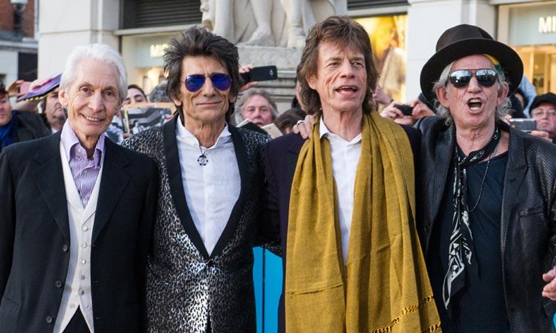 ¡Que empiece el show! Los Rolling Stones se exhiben en Londres