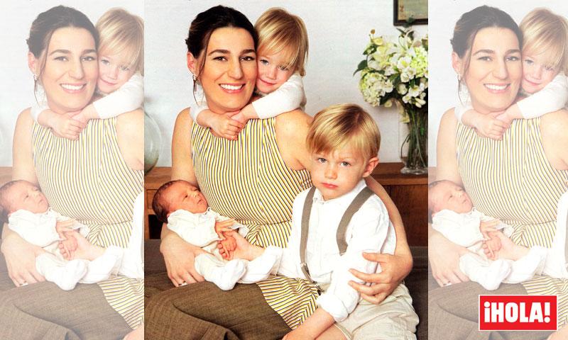 Exclusiva en ¡HOLA!, Eugenia Osborne presenta a Tristán, su tercer hijo