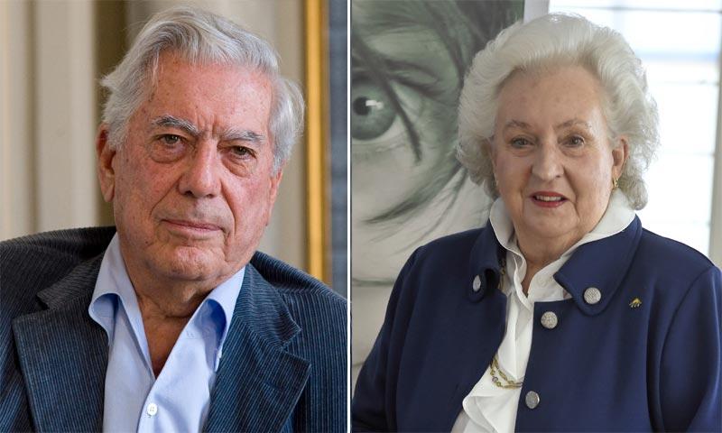 Pilar de Borbón y Mario Vargas Llosa aclaran, vía comunicado, por qué aparece su nombre en los 'Papeles de Panamá'