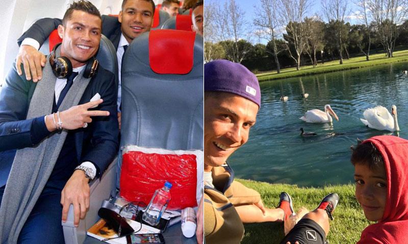 Las aficiones menos conocidas de Cristiano Ronaldo