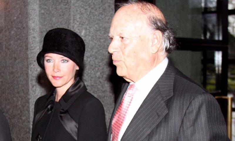 Carlos Falcó y Esther Doña, inseparables en el concierto solidario ofrecido por Ainhoa Arteta