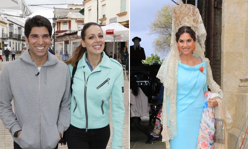 Mantilla y zapatillas de deporte, la combinación ganadora de Lourdes Montes y Eva González