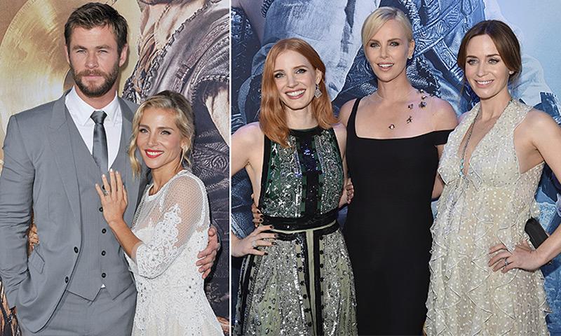 ¿Cuál de estas es tu princesa Chris Hemsworth?