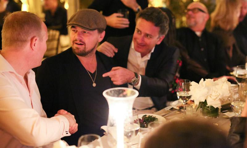 Entramos en la cena de Leonardo DiCaprio con todos los famosos de la Fórmula E