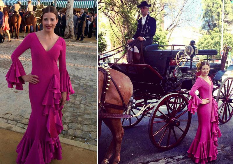Los mejores 'looks' de la Feria de Abril: ¿Quién es la flamenca con más arte?