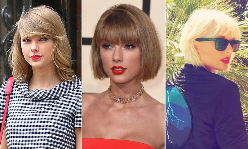 Taylor swift se ha vuelto a cambiar de 39 look 39 y cuando la veas no la vas a reconocer - Como cambiar de look en casa ...