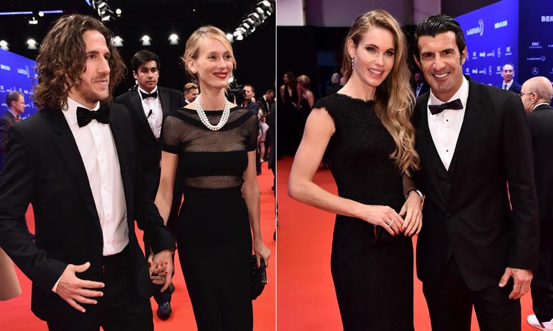 Desfile de glamour y belleza en los Premios Laureus World Sports