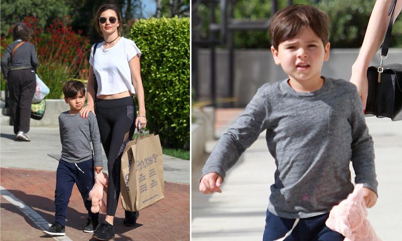 Flynn, el hijo de Miranda Kerr y Orlando Bloom, ¡cómo ha crecido!