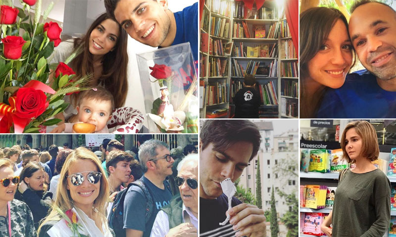 Melissa Jiménez, Alba Carrillo... un libro, una flor y mil maneras de celebrar Sant Jordi