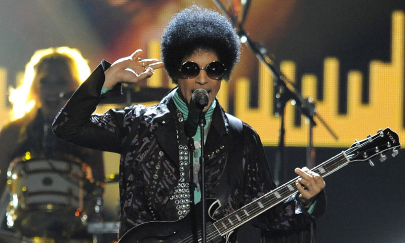 El último e íntimo adiós al cantante Prince
