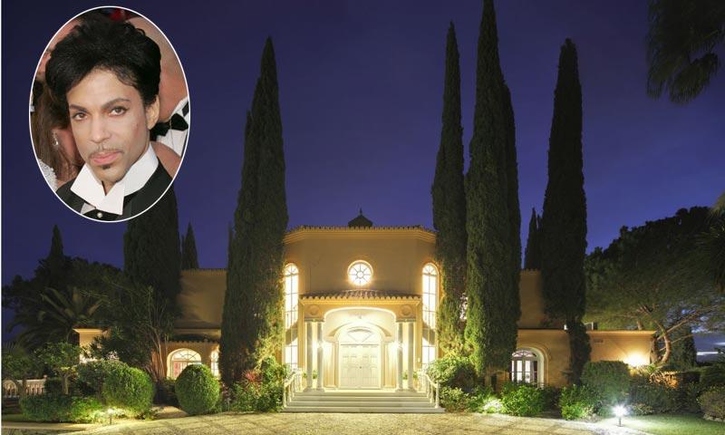 En venta la mansión de Prince en Marbella