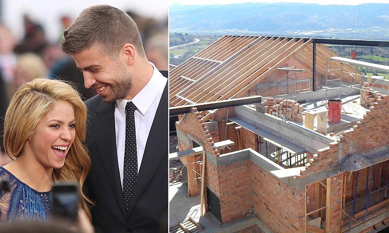 Shakira y Piqué se construyen una casa en el Pirineo catalán