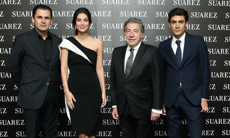 Alessandra de Osma, derroche de 'glamour' en la inauguración de la nueva boutique Suárez