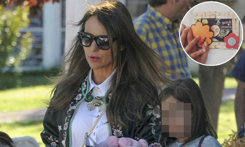 Paula Echevarría y su hija Daniella, en el Día de la Madre ¡nada de chicos!