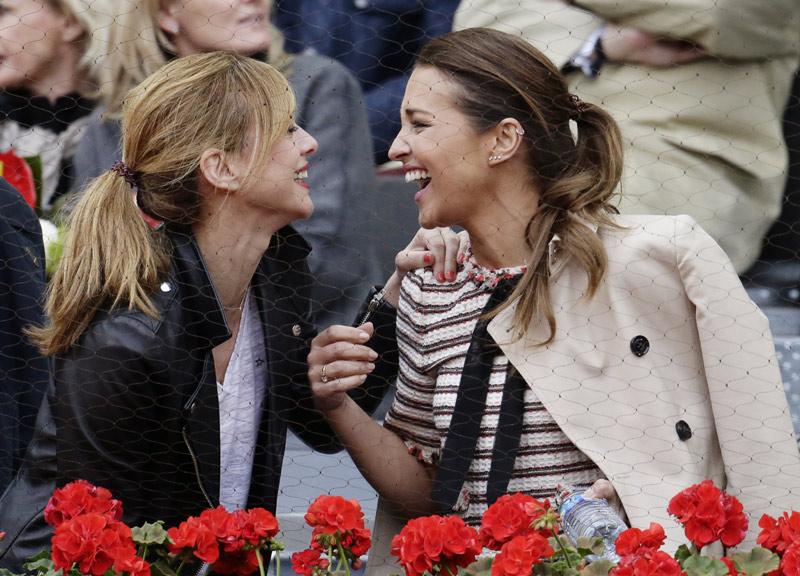 FOTO A FOTO: Las 'chicas Velvet', Genoveva Casanova, Edurne... el mejor tenis se juega en Madrid