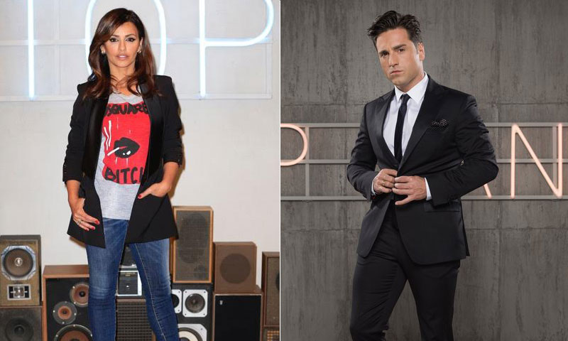 David Bustamante y Mónica Cruz, tristes tras la repentina cancelación de 'Top Dance'
