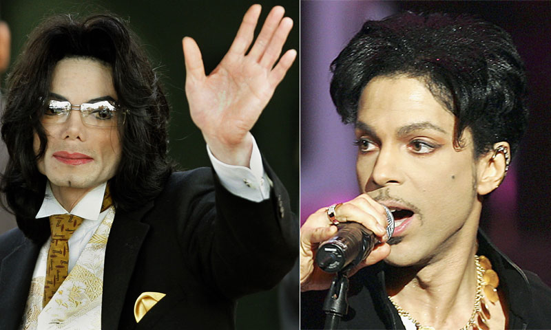 Prince y Michael Jackson, una vida de luces truncada por la misma sombra