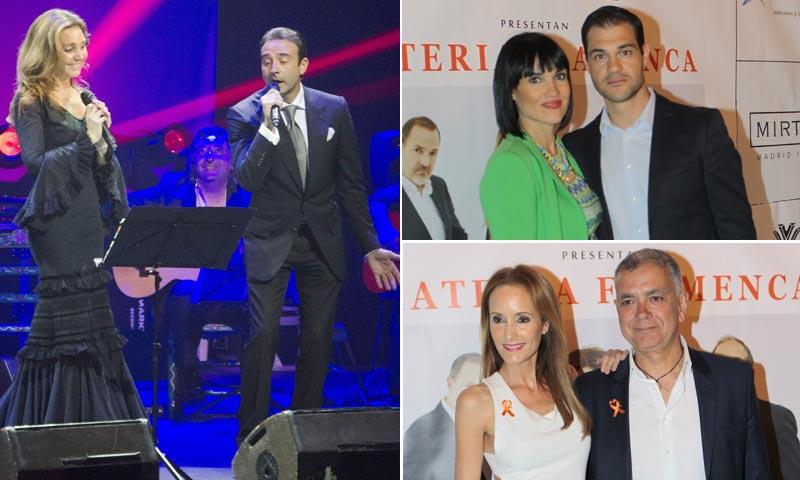 Enrique Ponce cautiva cantando en el concierto de 'Materia Prima'