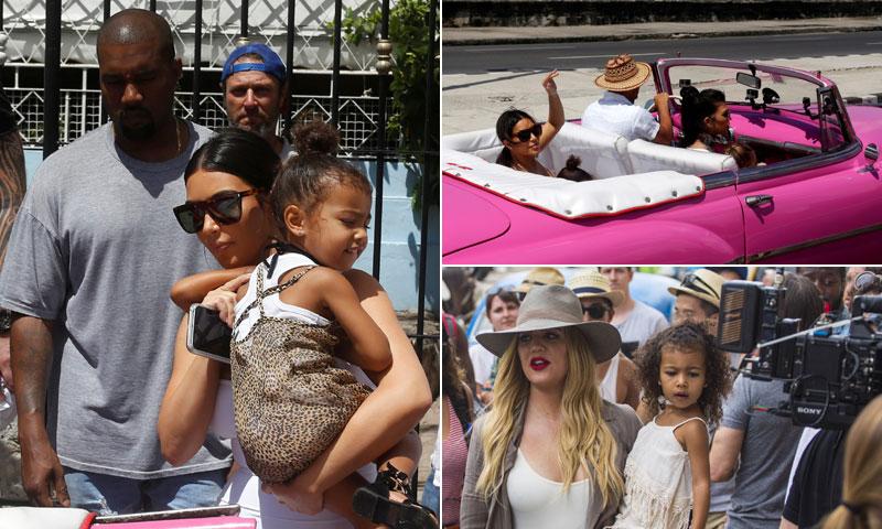 El clan Kardashian revoluciona Cuba y no se libra de la polémica