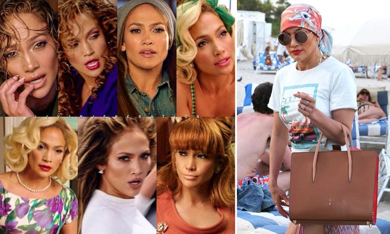 Jennifer López, los mil 'looks' de su nuevo videoclip... y otro con el que no la vas a reconocer