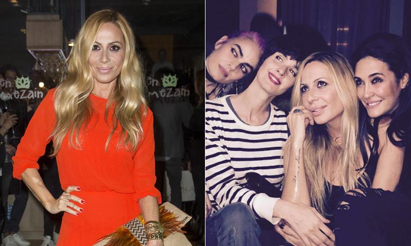 ¡Dos fiestas, un tatuaje y muchos amigos! Marta Sánchez cumple 50 años