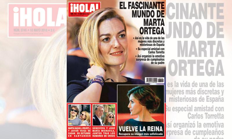 ¿Qué noticias y exclusivas trae en sus páginas la revista ¡HOLA! de esta semana?
