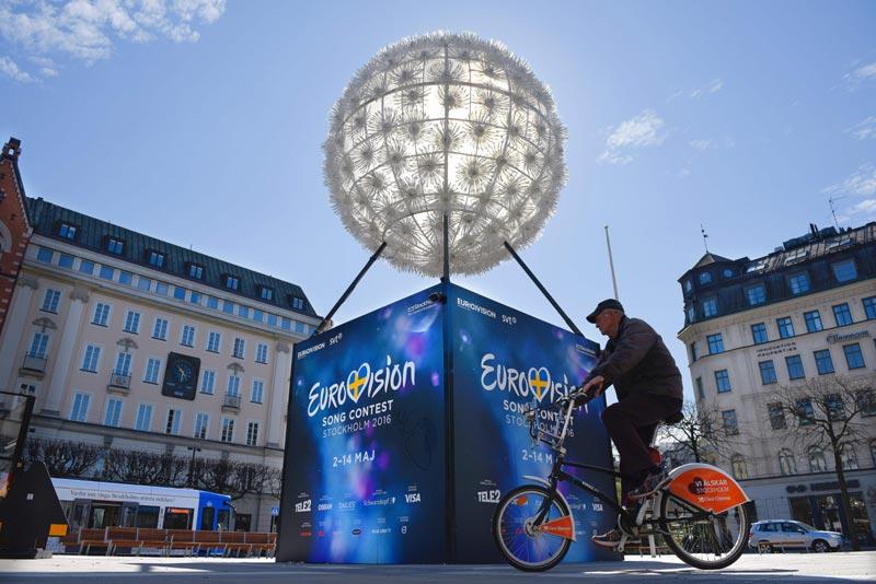 La 'fiebre eurofan' que invade Estocolmo, en cifras e imágenes