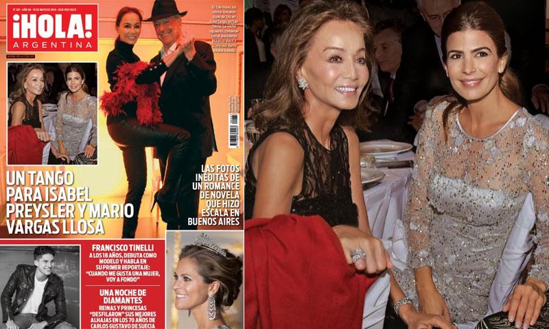 Isabel Preysler y Mario Vargas Llosa, a ritmo de tango en ¡HOLA! Argentina