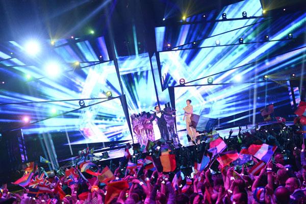 Ucrania gana Eurovisión y Barei lleva a España al puesto 22 con su 'Say Yay!'