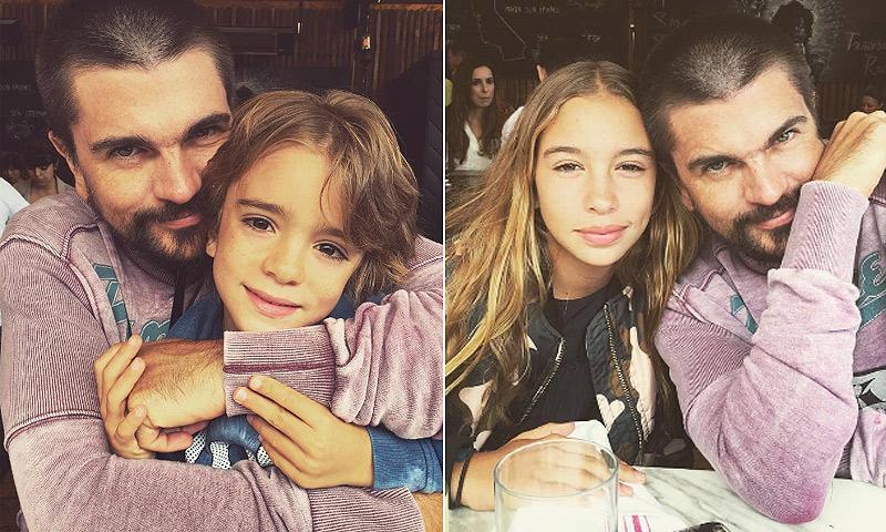 ¡Cómo han crecido! Juanes presume de sus 'compañeros de batalla'