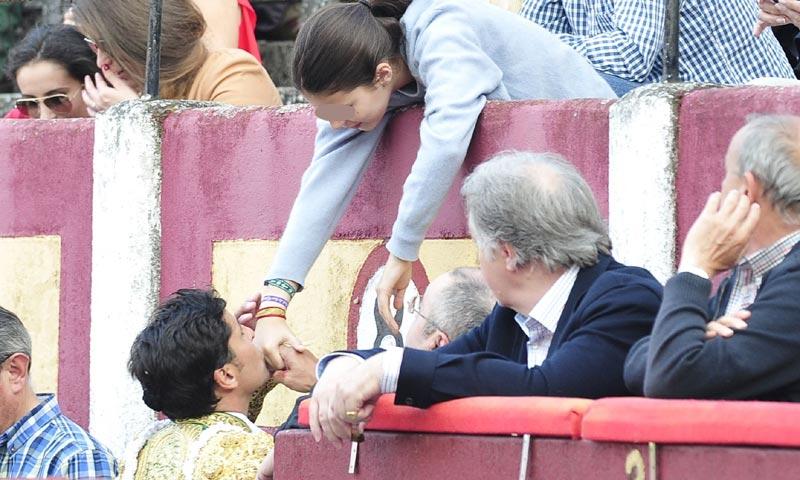 El cariño de Francisco Rivera a su seguidora número uno, su hija Cayetana