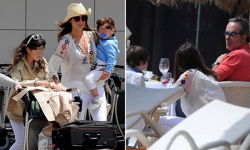Mar Saura se adelanta al verano en Ibiza con su familia