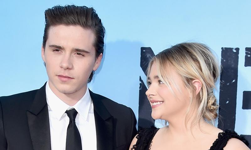 ¡Confirmado! Brooklyn Beckham y Chloe Moretz posan por primera vez como pareja